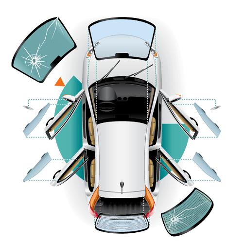 تبديل زجاج السيارة